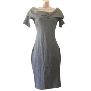 Juicy Couture gray fitted dress